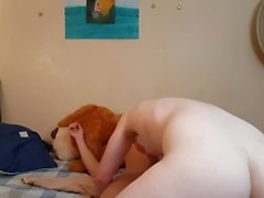 Boyfriends naked on the bed (fucking boy pussy in the bed)