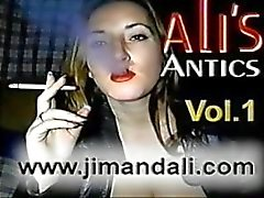 1 hour of Ali smoking fetish sex full (Classic)