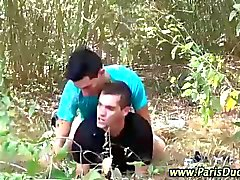 Gay euro cumshots outdoors