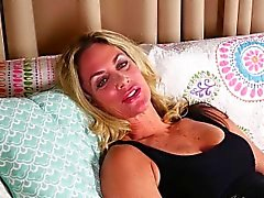 Mature Sydney Tells You About Her First Kiss and Masturbates