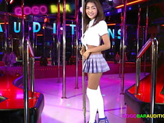 My audition to be a dancer at a Pattaya GoGo bar