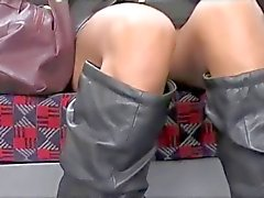Upskirt Asian Pussy On London Underground