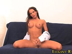 Glam ho toys her ass hole