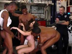 Domina cuckolds cop hubby