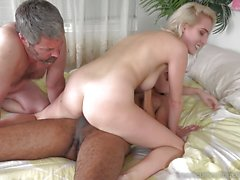 Sensual Cadence Lux takes on bbc