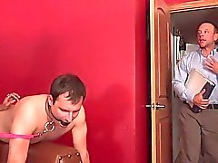 Husband Eats a Monsterous Load of Cum Off