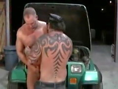Rock Ramsey & Alex Payne - hot chubby bear gay sex