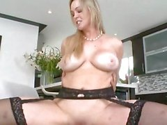 Abbey Brookes gets her pussy filled with hard cock