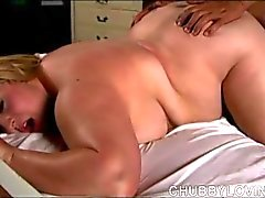 Super stacked sexy blonde BBW is a very hot fuck