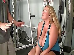 Sweety chubby slut gets his mouth drilled hard