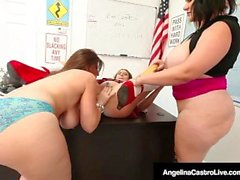 Principal Sara Jay Helps Ms. Castro Punish Student