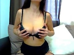 Big boobs asshole striptease