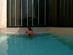vrpussyvision - Outdoor Pool hot tits and fingering
