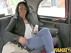 FakeTaxi - She is left with cum down her leg