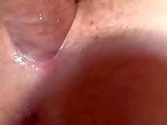 close up amateur fuck creampie