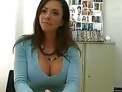 Mature brunette sells her body to big dick porn guy