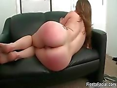 Hot brunette girl gets her cunt fucked