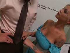 Delta White has huge tits, and this doctor has been...