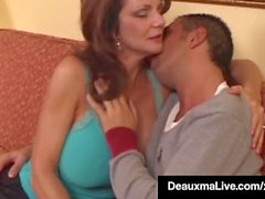 steaming insatiable Cougar Deauxma Bangs Newbie Big schlong Keiran Lee!
