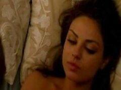 Sexiest nude moments with Mila Kunis