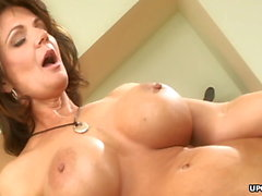 Horny lesbians, Kristal Summers and Deauxma are moaning duri