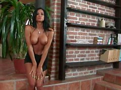 Ashley Bulgari plays with herself