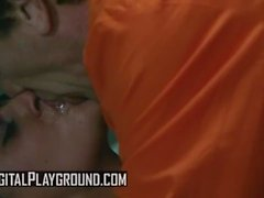 Digital Playground - Bad girl Charley Chase deepthroats some inmate cock