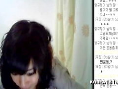 korean slut Hanbyul strips on camera