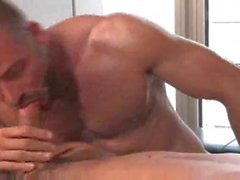 Sweaty sex with hot bottom