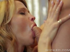 Wicked - Hot Milf Jessica Drake loves cock