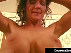 In love cougar deauxma copulates her spouse in her hotel!