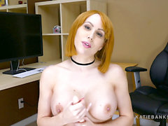 Office babe loves to take it in the culo for You