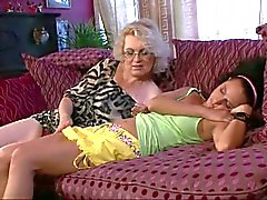 Drunk mom fingers daughter in law