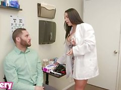 Trickery Horny Doctor Angela White fucks the wrong patient