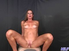 MILF Trip - Face full of cum for athletic brunette MILF - Part I