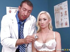 Gorgeous Madison Scott fucked by a dirty doctor