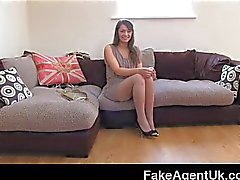 FakeAgentUK - Squirting from hairy pussy