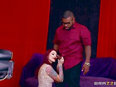 Black dick pounds into Monique Alexander