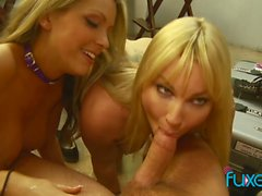 Flower Tucci Courtney Cummz seduce schoolboy