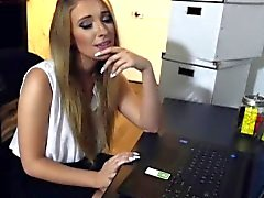 CFNMTEENS-Asked My Hot Blonde Secretary For A BlowJob