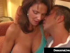 Cock Craving Cougar Deauxma Squirts Doing Anal!