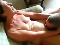 Mature gal has her horny vagina licked