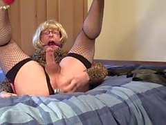 Victoria Hoe Gagged and Dildo filled