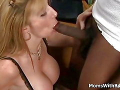 Mature Boss Sara Jay Interracial Sex Applicant