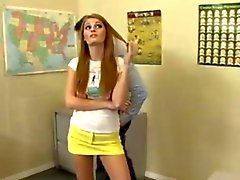 Sexy bookworm faye reagan bangs her teacher