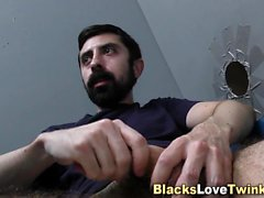 Gay studs beard cummed
