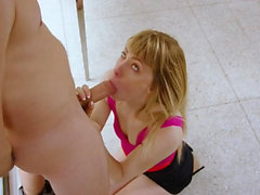 Hairy pussy cowgirl pussy spanking with facial