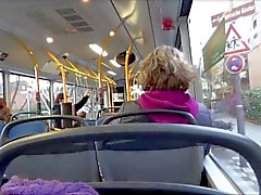 Real Public Bus Blowjob Lena Loch