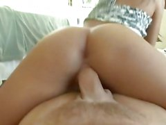 Chayse Evans gobbles down this hard throbbing cock