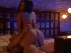 Jada Fire fucking in the bedroom
